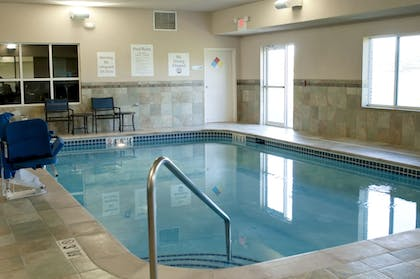 Pool | Holiday Inn Express Hotel & Suites Ankeny-Des Moines