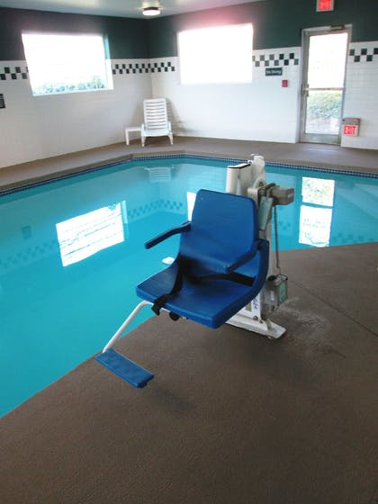 Indoor Pool | The Ashley Inn & Suites