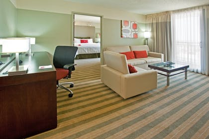 | 1 King Bed Feature Suite Nonsmoking | Crowne Plaza Chicago West Loop