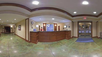 Reception | Holiday Inn Express and Suites Greenville
