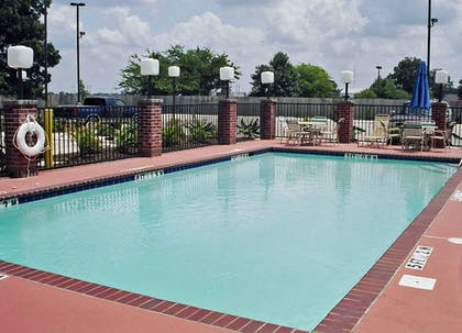 Pool | Holiday Inn Express and Suites Greenville