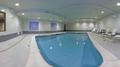 Indoor Pool | Holiday Inn Express and Suites Greenville