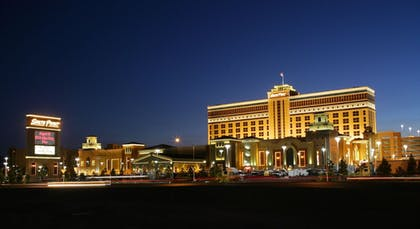 Hotel Front - Evening/Night | South Point Hotel, Casino, and Spa