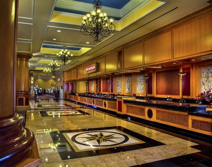 Reception | South Point Hotel, Casino, and Spa
