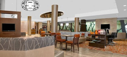 Lobby Sitting Area | Courtyard by Marriott New York Manhattan/Upper East Side