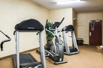 Fitness Facility   Quality Inn & Suites Airport North