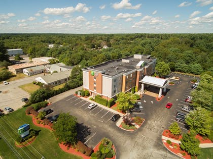 Aerial View | Holiday Inn Express Hotel & Suites Middleboro Raynham