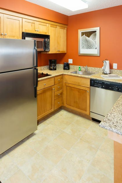In-Room Kitchen | Residence Inn by Marriott Wayne