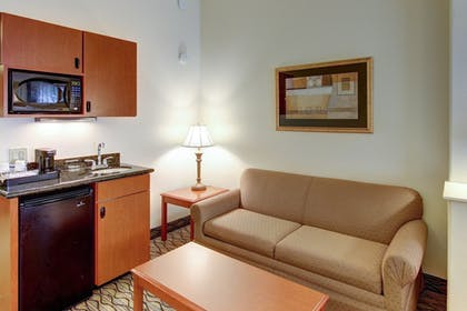 Living Area | Holiday Inn Express Hotel & Suites San Angelo