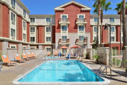 Outdoor Pool | TownePlace Suites by Marriott Ontario Airport
