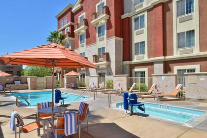 Outdoor Spa Tub | TownePlace Suites by Marriott Ontario Airport