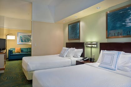 Guestroom | SpringHill Suites by Marriott St. Petersburg Clearwater