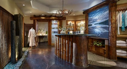 Spa Reception | The Whiteface Lodge