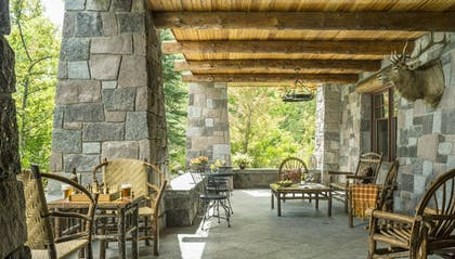 Hotel Entrance | The Whiteface Lodge