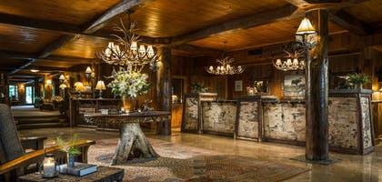 Lobby | The Whiteface Lodge