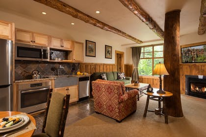 Living Area | The Whiteface Lodge