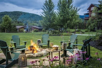 Courtyard | The Whiteface Lodge