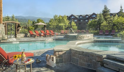 Outdoor Pool | The Whiteface Lodge