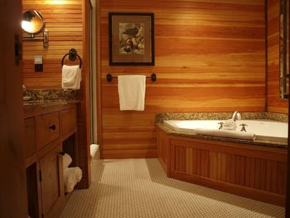 Bathroom | The Whiteface Lodge