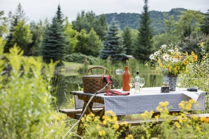 Outdoor Dining | The Whiteface Lodge