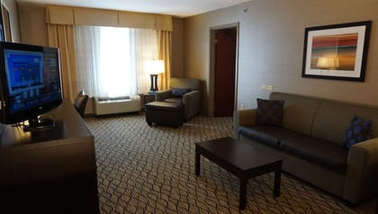 Living Room | Holiday Inn Express Hotel & Suites Gibson