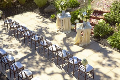 Outdoor Wedding Area | Hotel Yountville