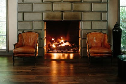 Fireplace | Hotel Yountville