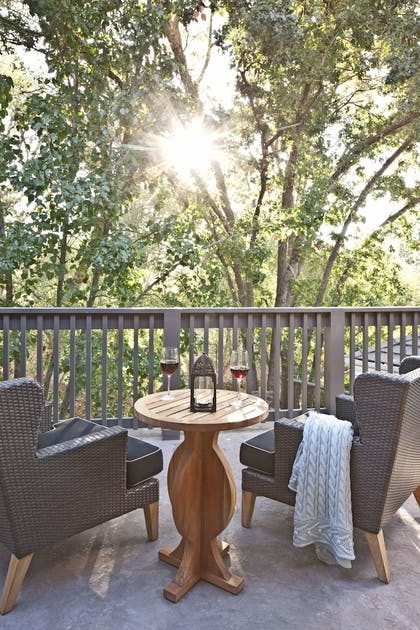 Terrace/Patio | Hotel Yountville