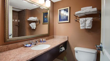 Bathroom | Best Western Plus North Savannah