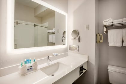 In-Room Amenity | Holiday Inn Express Hotel & Suites Dallas-Grand Prairie I-20