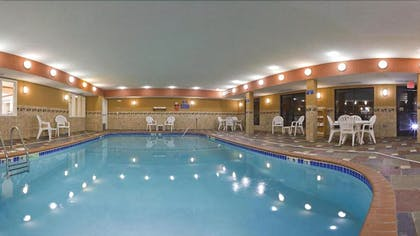 Indoor Pool | Holiday Inn Express Hotel & Suites Ft. Collins