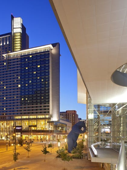 Hotel Front | Hyatt Regency Denver at Colorado Convention Center