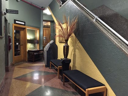 Lobby Sitting Area | The Historic Latchis Hotel and Theatre