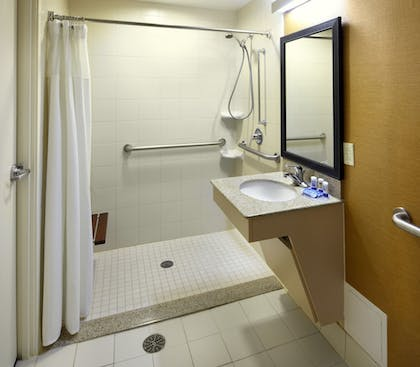 Bathroom | Fairfield Inn & Suites by Marriott Parsippany