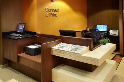 Business Center | Fairfield Inn & Suites by Marriott Parsippany