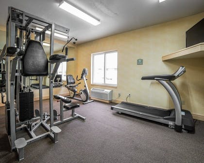 Fitness Facility | Comfort Inn & Suites