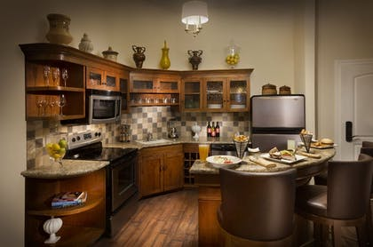 In-Room Kitchen | The Meritage Resort and Spa