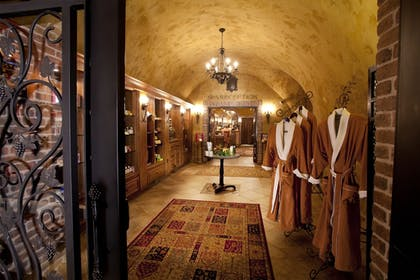 Spa Reception | The Meritage Resort and Spa
