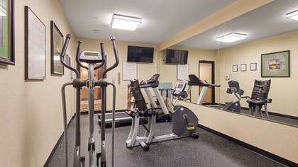 Fitness Facility | Best Western Plus Victoria Inn & Suites