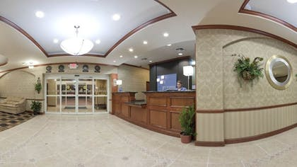 Reception | Holiday Inn Express Hotel & Suites Corsicana