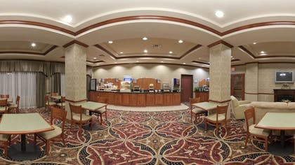 Breakfast Area | Holiday Inn Express Hotel & Suites Corsicana