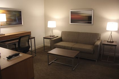 Living Area | Holiday Inn Express Munising-Lakeview