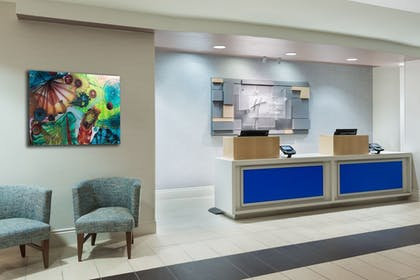 Lobby | Holiday Inn Express Hotel & Suites Ft. Lauderdale-Plantation