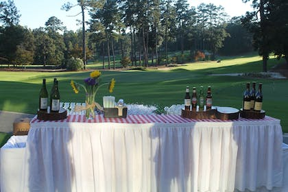 Outdoor Banquet Area | Mid Pines Inn & Golf Club