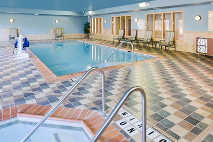 Pool | Holiday Inn Express Hotel & Suites Urbana-Champaign