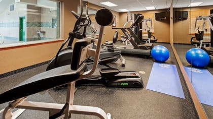 Fitness Facility   Best Western Executive Inn & Suites