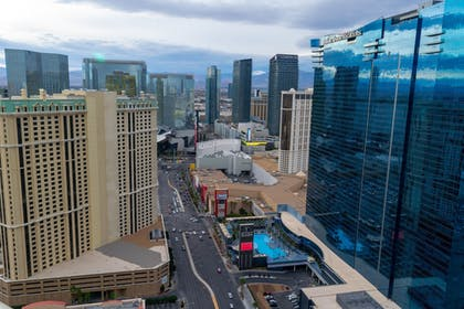 View from Room | The Signature at MGM Grand