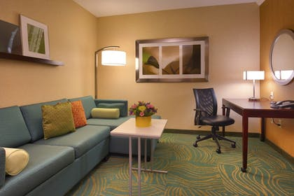 Guestroom | SpringHill Suites by Marriott Salt Lake City Downtown