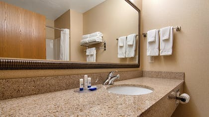 Bathroom | Best Western Plus Blaine at the National Sports Center