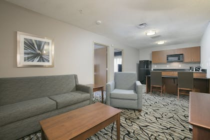 Living Area | Best Western Plus Blaine at the National Sports Center